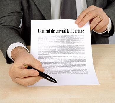 Le contrat en intérim